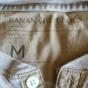 Banana Republic Shirts - Banana Republic Men's Henley T Shirt